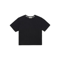 Alternative Apparel - Hayes Organic Slub Cropped T-Shirt - Black