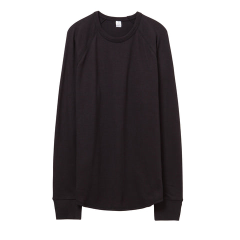 Alternative Apparel - Kickback Vintage Heavy Knit Pullover - Black