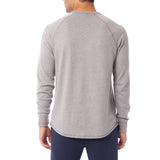 Alternative Apparel - Kickback Vintage Heavy Knit Pullover - Smoke Grey
