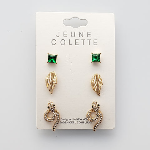 Earrings - Set of 3