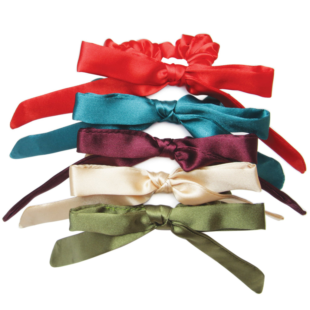 Banded - Josephine's Chair - 5 Pack Skinny Bow Scrunchies