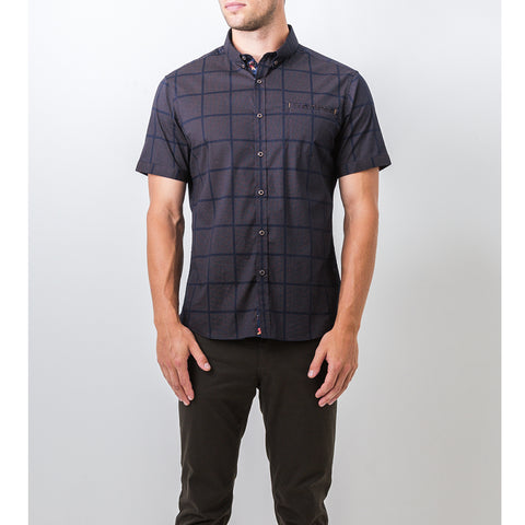 7 Diamonds - Vanishing Point Short Sleeve Woven