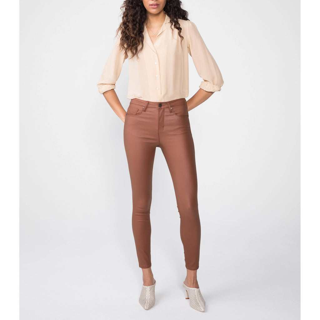 Unpublished - OLIVIA High Rise Skinny in Chestnut