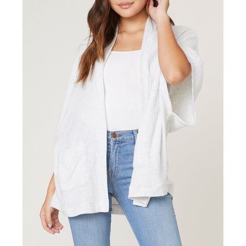 Jack- Go Lightly Waffle Knit Cardigan