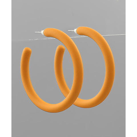 Yellow 50mm Color Coat Hoops