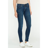 Hudson - Nico Midrise Super Skinny Jean - Medium-dark Indigo Interlude