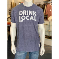 Retro Brand - Drink Local Tee - Navy