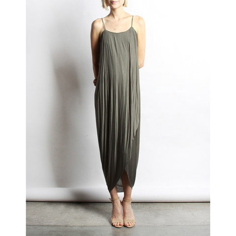 MOD REF- THE RUE DRESS IN OLIVE