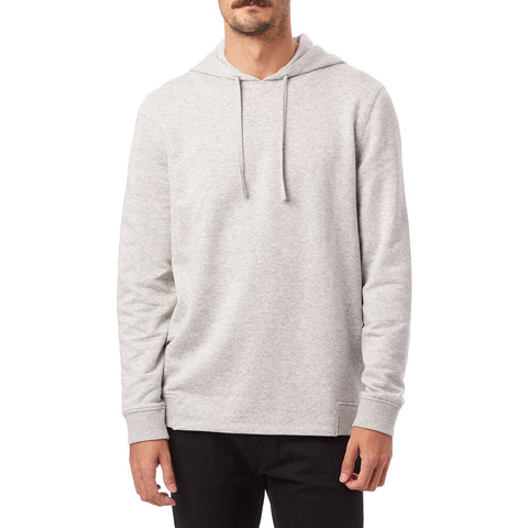 Alternative Apparel - Cotton Modal Heathered Seamed Hoodie