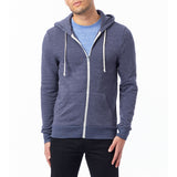 Alternative Apparel - Rocky Eco-Fleece Zip Hoodie - Eco True Navy