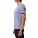 Alternative Apparel - Weathered Slub Henley Shirt - Stone Blue