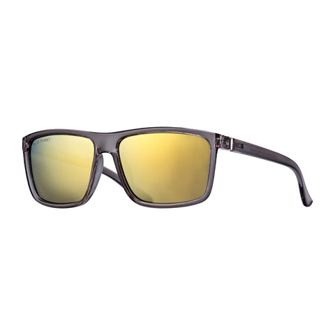 Blue Planet - Landen - Crystal Smoke/Gold Mirror Polarized