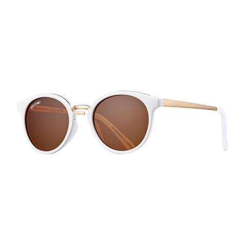 Blue Planet - Lucca - Alpine White/Gold/Brown Polarized
