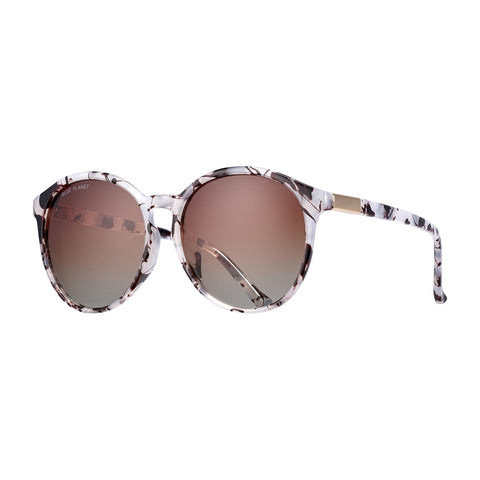 Blue Planet - Miri - Ivory Tortoise/Gradient Brown Polarized