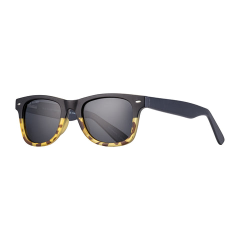 Blue Planet - Wallace - Matte Onyx to Honey Tortoise/Smoke Polarized