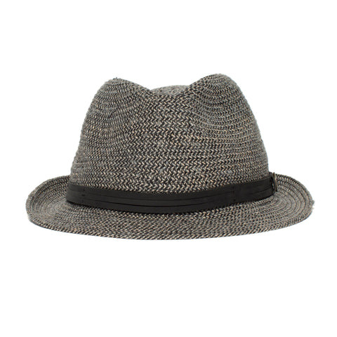 Goorin Bros. - Laying Low Short Brim Hemp Blend Straw Fedora