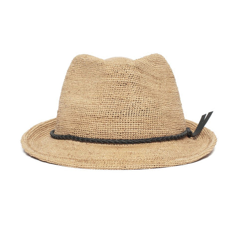 Goorin Bros. - Morning Glory Medium Brim Raffia Straw Fedora