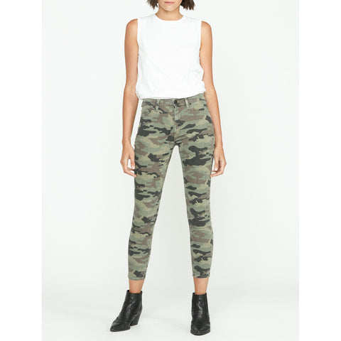 Hudson - Barbara High Waist Super Skinny Ankle - Worn Camo