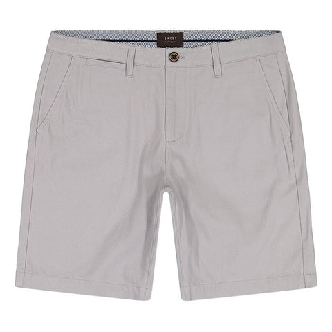 JACHS - Grey Stretch Twill Chino Short