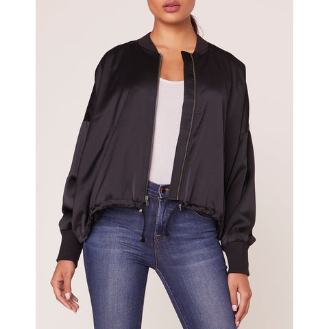 Jack - On Duty Satin Bomber Jacket