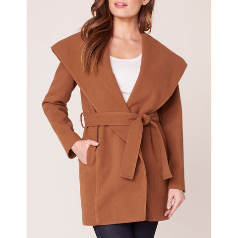 Jack - Take Cover Hooded Wrap Coat