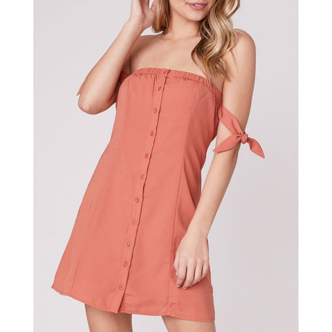 Jack - Tie To Remember Strapless Dress
