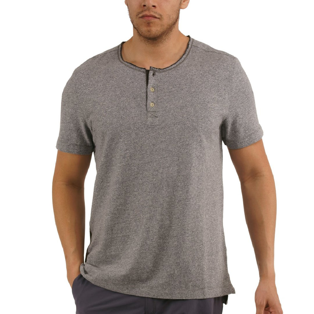 Jeremiah - Brook - Solid Jersey Henley - Griffin