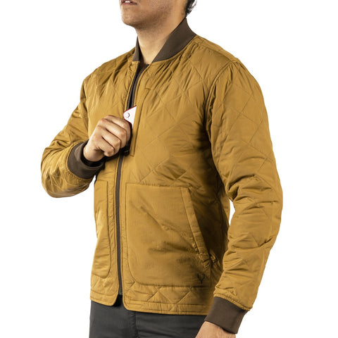 Jeremiah - Hedges Quilted Bomber Jacket