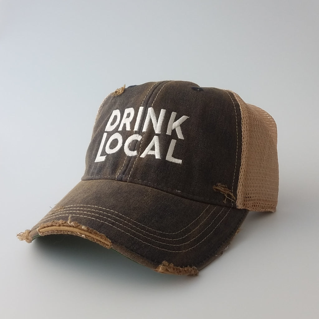 Retro Brand - Drink Local Trucker Cap