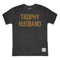 Retro Brand - Tri-Blend Tee - Trophy Husband - Black