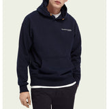 Scotch & Soda - Organic Cotton Hoodie - Night
