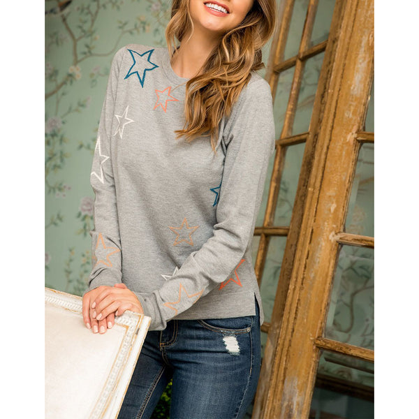 THML - Star Sweater - Grey