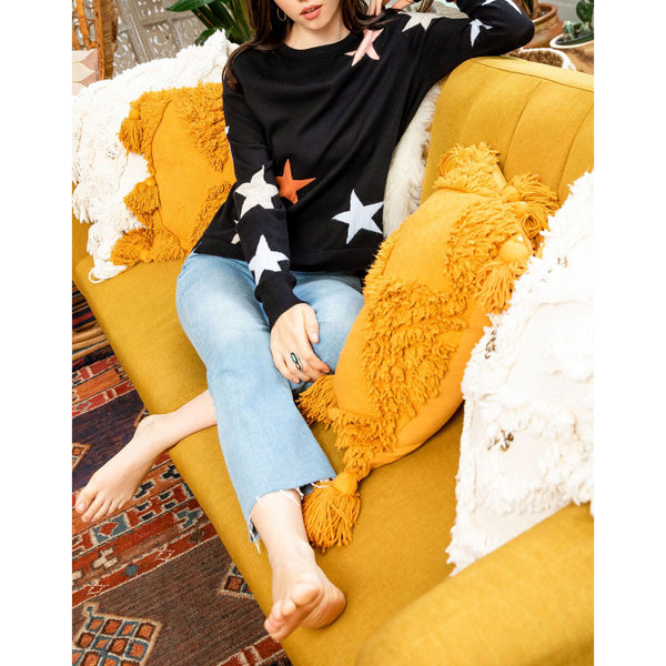 THML - Stars Sweater - Black
