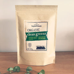 Organic Clean Greens Wholefood Powder