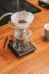 Hario V60 Plastic Coffee Dripper 02 Clear
