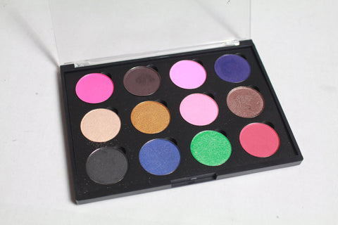 Coastal Scents Custom Palette: 12 Piece with Clear Lid
