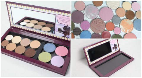 DMQ Dream Big Palette, Mystery Collection + Palette Case Bundle