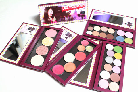 THE BEST BUNDLE: DMQ Dream Big Palette, Spring Palette, Blush Palette + FREE Lip Palette