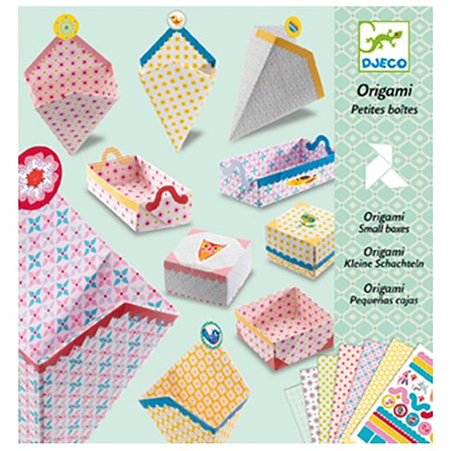 Djeco Origami - Small Boxes