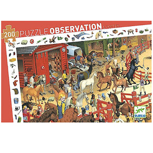 Djeco Horses Observation Puzzle