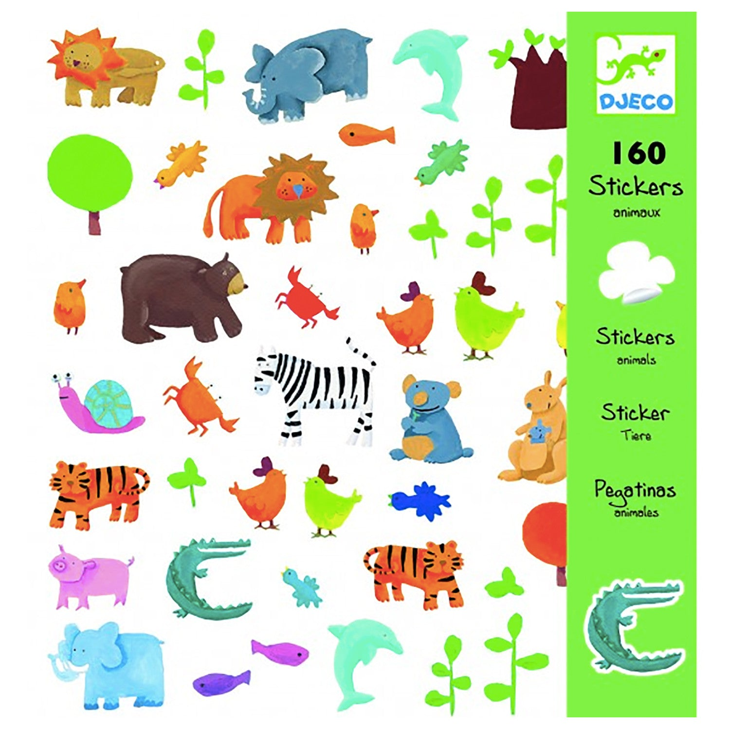 Djeco Stickers - Animals