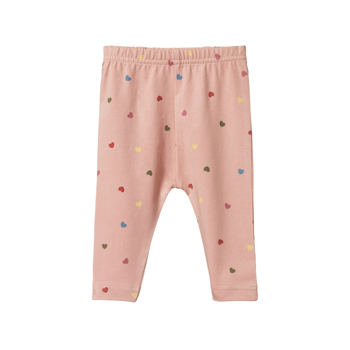 Nature Baby Leggings Heart Tulip Print