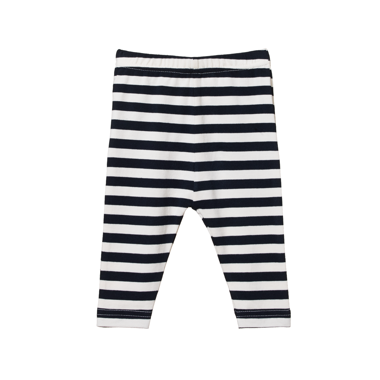 Nature Baby Leggings in Navy Sea Stripe