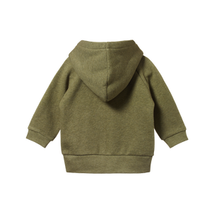 Nature Baby Hoodie Sweatshirt Knit Cypress Marl