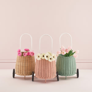 Olli Ella Luggy Basket -Mint
