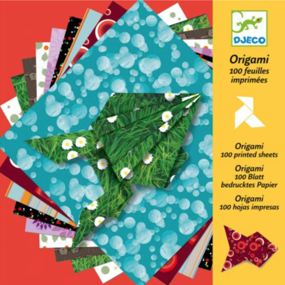 Djeco Origami Papers, code 8763