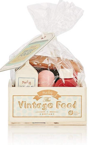 Maileg Vintage Food Grocery Box, packaged as its sold