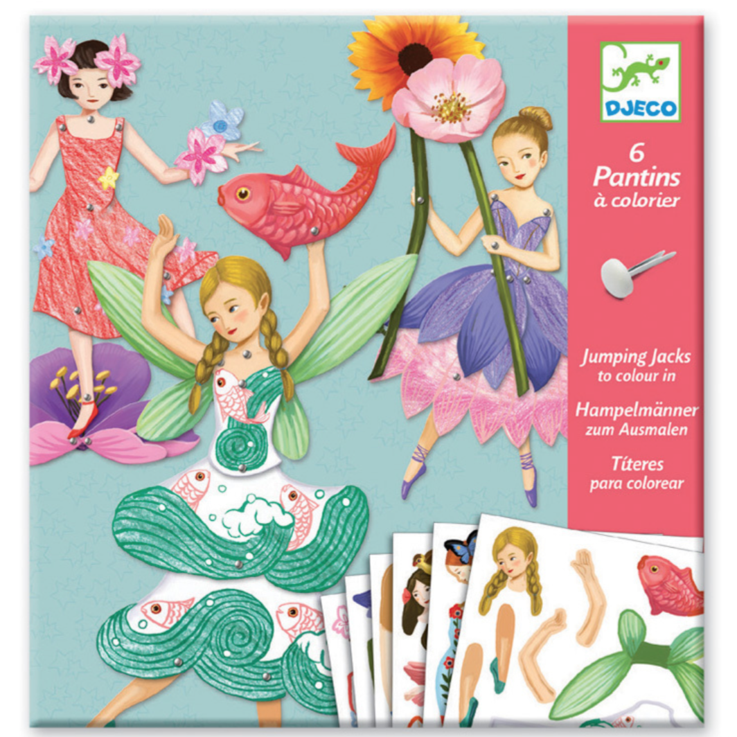 Djeco Jumping Jacks -Fairies