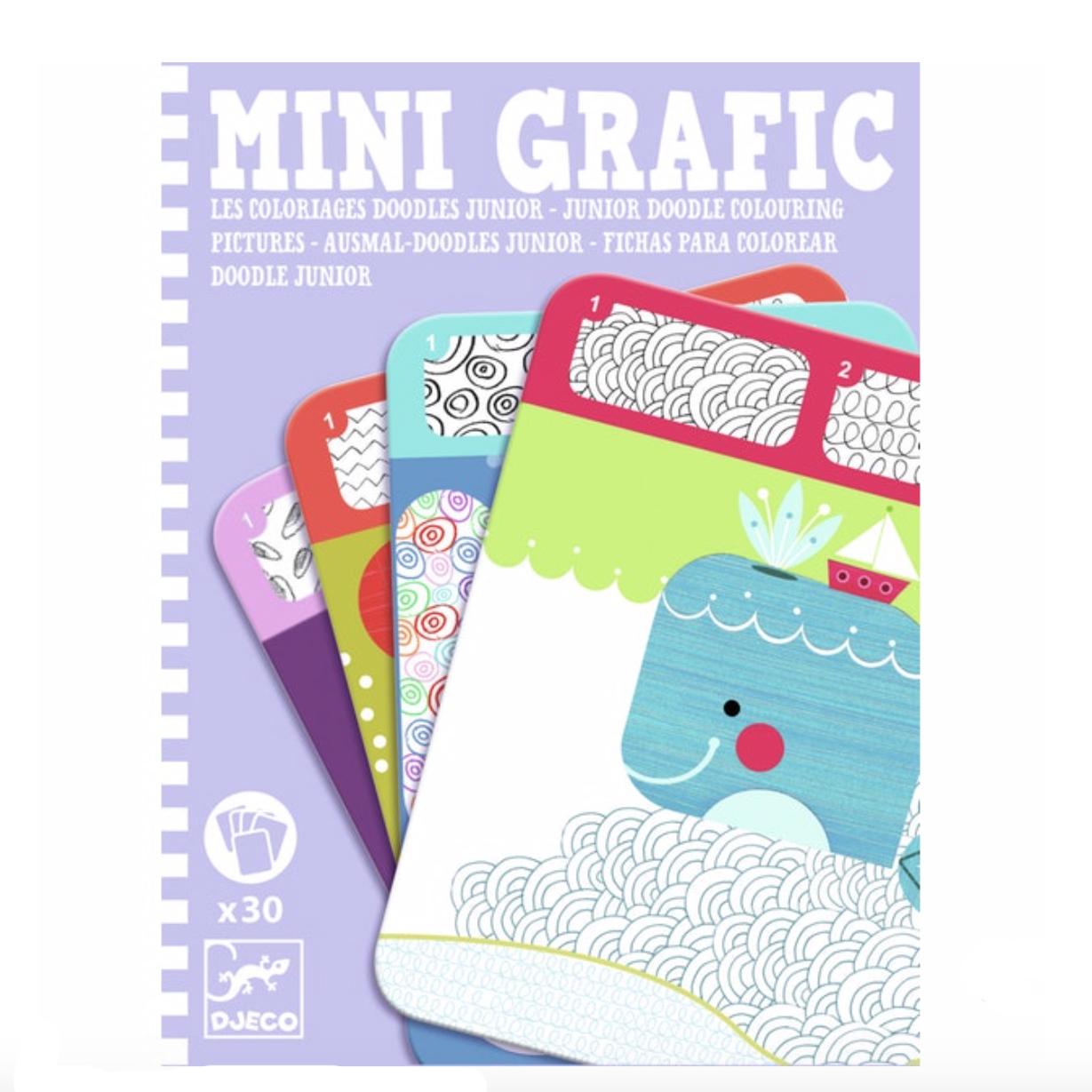 Djeco Mini Grafic Doodle Junior