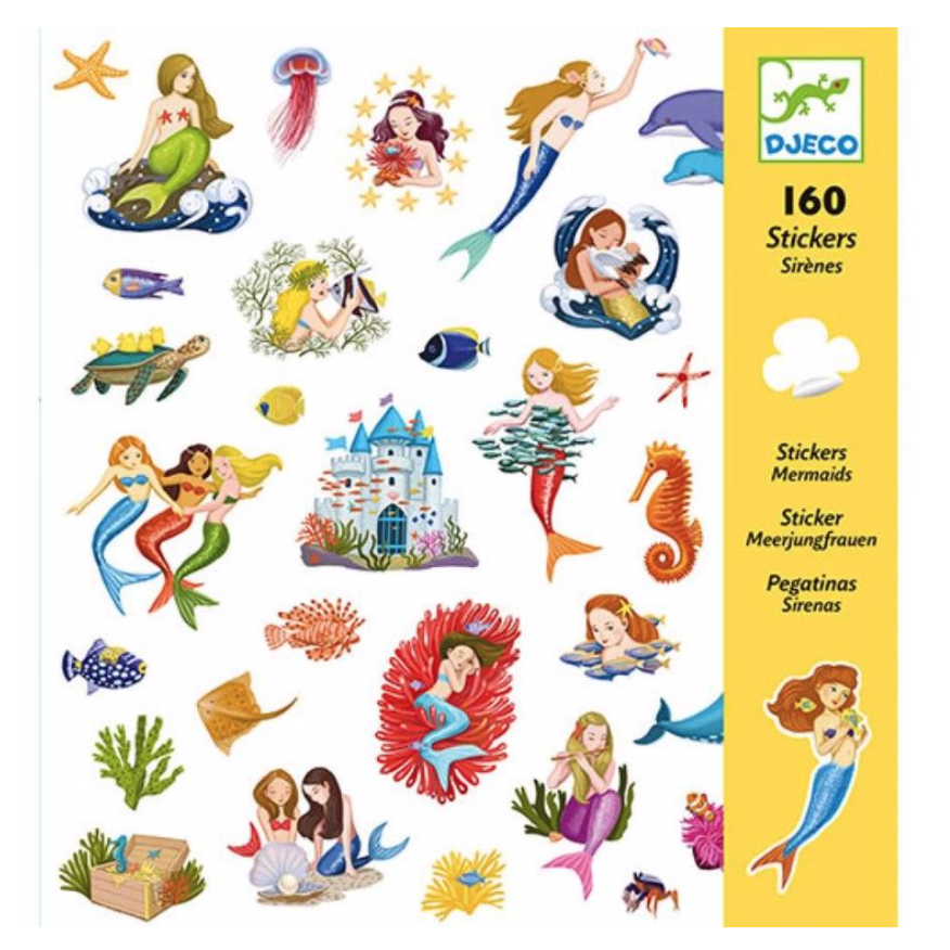Djeco Stickers -Mermaids